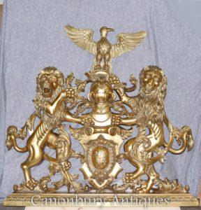 镀金徽章英语城堡手刻纹章