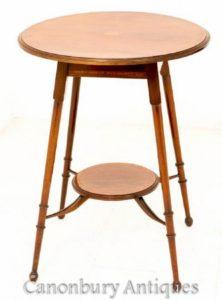 红木边桌-古董偶尔大约1890年