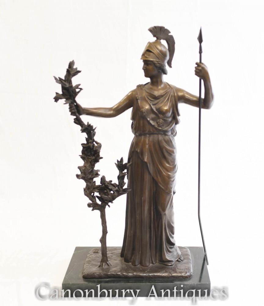 不列颠铜像-罗马女神英国