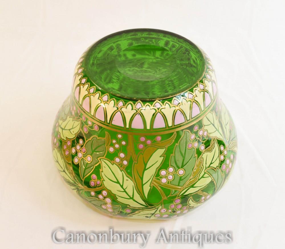 新艺术风格玻璃碟-1930年法国古董播种机